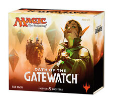 6x Oath of the Gatewatch Fat Packs Magic the Gathering Sealed Full Art Lands MTG