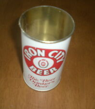 IRON CITY BEER CAN CUP - PITTSBURGH BREWING COMPANY