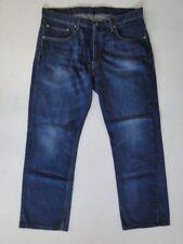 Levis 752 Slim Herren Jeans Hose Blau Stonewashed W38 L30