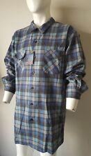 NWT Pendleton Men's Big Long Sleeve Board Shirt Plaid Blue/Grey Ombre Size XXXL