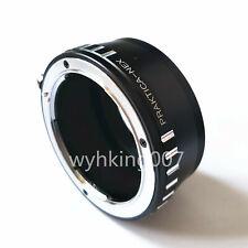Track Praktica PB Lens To Sony NEX E NEX5 NEX7 NEX6 NEX3 A6300 A5000 A7 Adapter