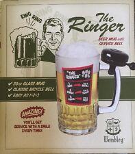 Wembley Beer Mug With Service Ringer 20 oz Mug Ring Ring