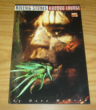 Rolling Stones: Voodoo Lounge #1 VF/NM rare variant with poster - dave mckean
