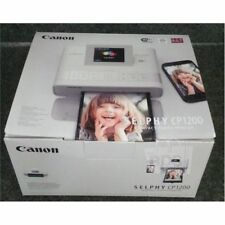 New ! Canon SELPHY CP1200 Wireless Color Dye-Sublimation Photo Printer 300dpi