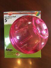 "Kaytee Run-About Ball 5"" (12.7cm) - Pink"