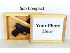 Hidden gun storage case, concealment furniture cabinet, wall safe, slide light