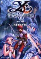 Ys 6 THE ARK OF NAPISHTIM strategy guide book / PS2