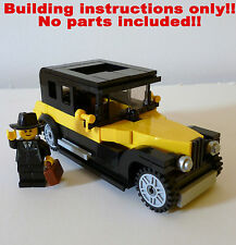 LEGO Vintage Cars - 5 Vehicles - BUILDING INSTRUCTIONS ONLY