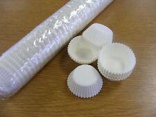 BULK 1000 white paper petit four/truffle/sweet cases