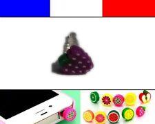 Cache anti-poussière jack universel iphone protection capuchon bouchon FRUIT 9