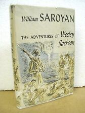 The Adventures of Wesley Jackson by William Saroyan 1946 HB/DJ First Edition