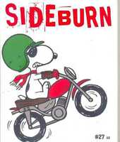 SIDEBURN - Flat Track Magazine No.27 (Cover 2 -  Red Cover) (NEW COPY)
