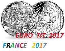 10   EURO  FRANCE   COMMEMORATIVE  2017      RODIN     /    2017     Disponible