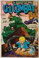 G.I. COMBAT #134 FN 6.0 1969 Ross Andru / Haunted Tank Silver Age DC