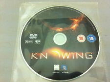 Knowing DVD R2 PAL - DISC ONLY in Plastic Sleeve