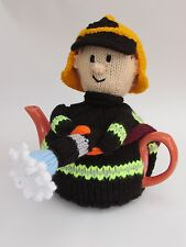 Firefighter Tea Cosy Knitting Pattern