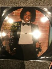 "Michael Jackson ""Off The Wall"" Picture Disc Vinyl LP Brand New -  2018 Pressing"