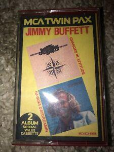 Jimmy Buffett Changes in Attitudes/Havana Daydreamin'  Cassette Tape 1982