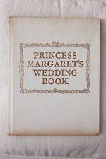 Princess Margaret's wedding book