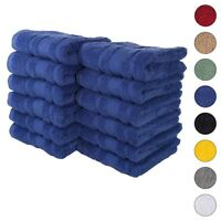 NEW NAVY BLUE Color ULTRA SUPER SOFT LUXURY PURE TURKISH 100% COTTON HAND TOWELS