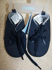 Nwt Gymboree Navy Blue with Gray faux fur lining Hi-Top Crib Shoes Boots Size 04