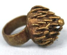 Art Africain - Ancienne Bague Traditionnelle Ethnique Akan - Old Baule Ring ++++