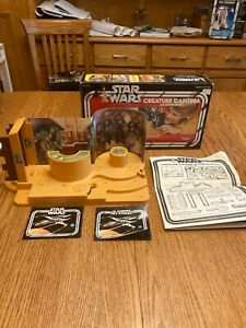 Star Wars Vintage Creature Cantina Action Playset in the Original Box!