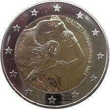 Pièce 2 euros MALTE 2014 - Indépendance 1964-2014 - 400 000 exemplaires - UNC