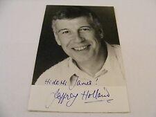 JEFFREY HOLLAND Signed Photo Autograph TV Comedy Hi de Hi! You Rang M'Lord