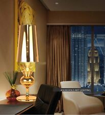 Gold 1 Light PVC Lampshade+Metal Height 80CM Decoration Table Light/Lamp