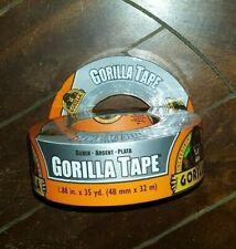 """New listing 2 x Silver Gorilla Tape (Each Roll: 1.88"""" x 35yd)"""