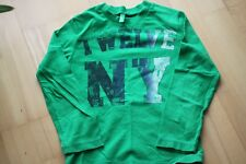 t-shirt für Jungs, Benetton, Gr 4-5 J, grün, sehr guter Zustand