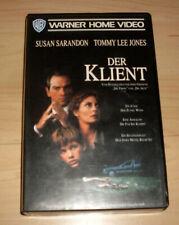 VHS Film - Der Klient - Susan Sarandon - Tommy Lee Jones - Videokassette