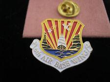 U. S. AIR FORCE 6th AIR BASE WING (AMC) MacDILL AIR FORCE BASE HAT PIN