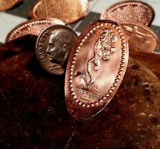 Bouncing! Tigger - Golf Ball Marker Pressed copper Penny Ball Mark