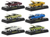 1/64 M2 Machines DETROIT MUSCLE Release 47 Assortment - (6) Cars Set 32600-47