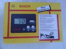 Bosch Digitaltacho universal mit Geschwindigkeitswarner  bis 250 Km/h NOS