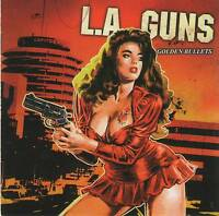 L.A. GUNS - GOLDEN BULLETS (2003) RARE CD Jewel Case+FREE GIFT Hard Rock Metal
