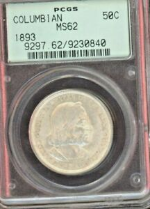 1893 Columbian Exposition PCGS MS62 - Sharp Example