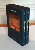 Romola 2 Book Box Set George Elliot Volume 1 and 2 Hardback New
