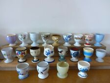VINTAGE EGG CUP COLLECTION 21 assorted EGG CUPS Job Lot