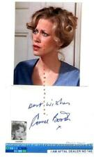 More details for connie booth vintage signed page aftal#145