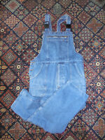 vintage JEANS Latzhose jeanslatzhose blau dungarees oldschool festival style