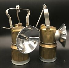 2 Antique Carbine Lamps, Arizona Mining Collectables - ca1940