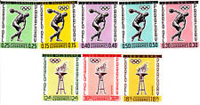 Paraguay 1962 Summer Olympic, Tokio 1964, MNH, perf.