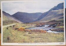 Irish Postcard BUNDARRAGHA River Near Delphi MAYO Ireland Dollard 356 1960s