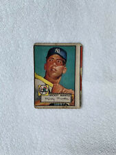 Micky Mantle Card