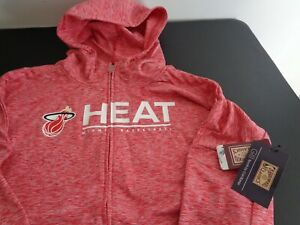 MIAMI HEAT Hardwood Classics G-III Womens XL Hoodie Sweatshirt NBA Free Ship NEW