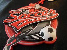 Christmas 3-D Ornament Girls Womens Soccer Hallmark NWT Gift  Stocking Stuffer