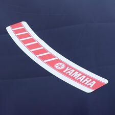 Yamaha Speedblock Helmet Visor Sunstrip Sticker Motorcycle Bike Vinyl Decal RED